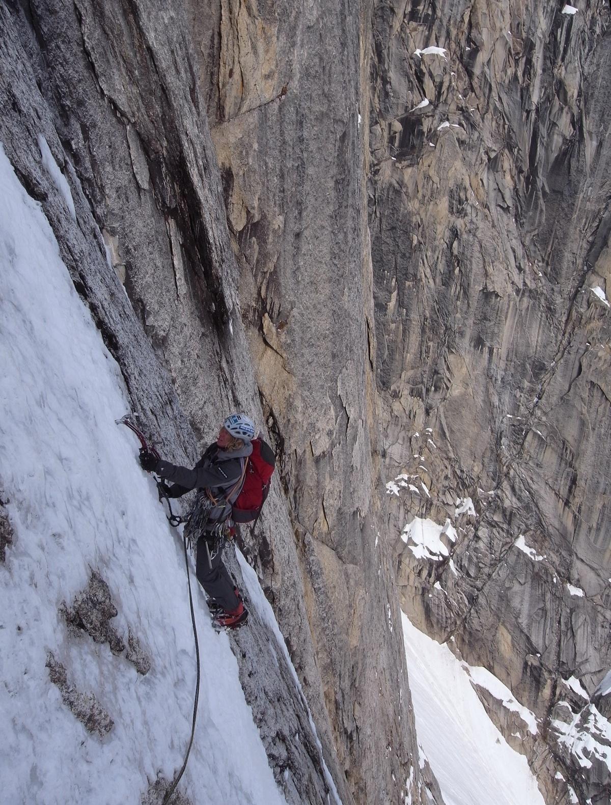 Matt Helliker on Meltdown, Mt. Grosvenor.