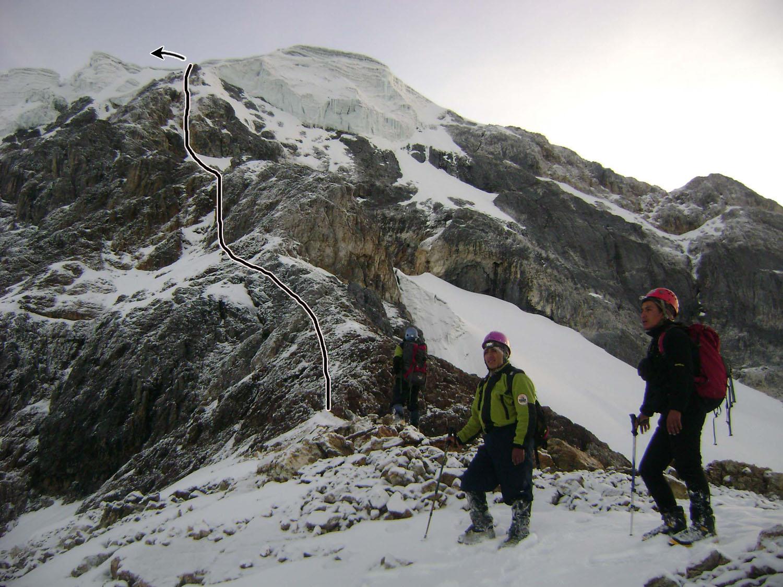 Last Inca, on Nevado Vicuñita.