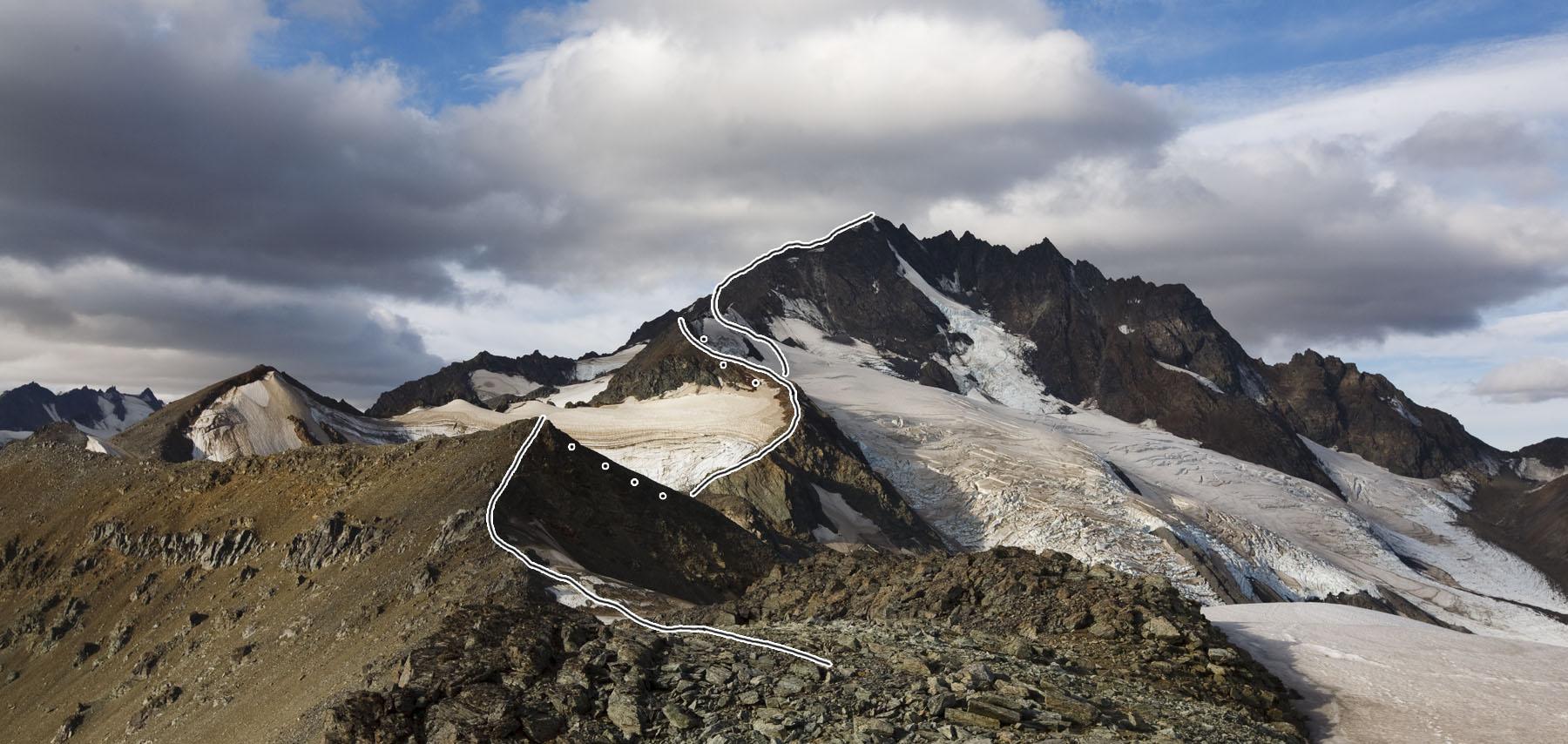 Cerro Kristine, near Chilean Patagonia's wild Chacabuco Valley.