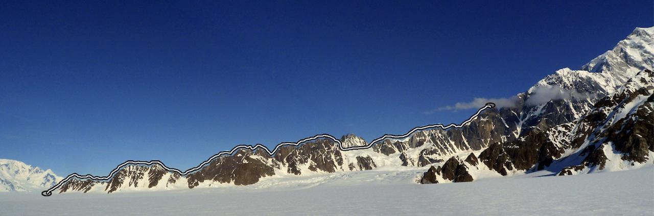 The sit-start attempt to Mt. Logan's Hummingbird Ridge.