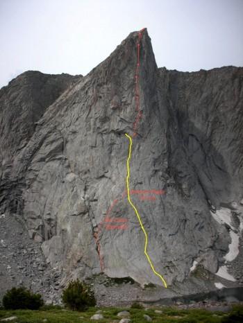 Ambush Peak, showing I Think Therefore I Ambush.