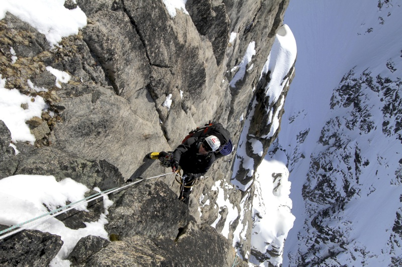 Mikhailov on pitch 10 of Dance on Tiptoes, Shark's Tooth.