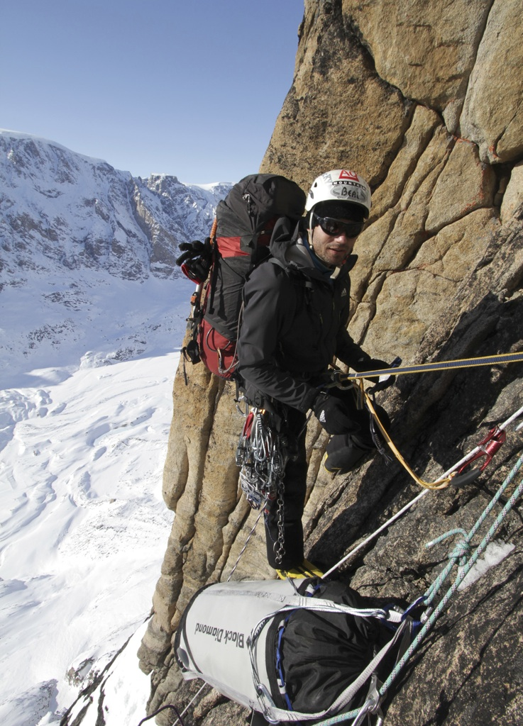 Mikhailov on excellent granite at top of pitch 12.