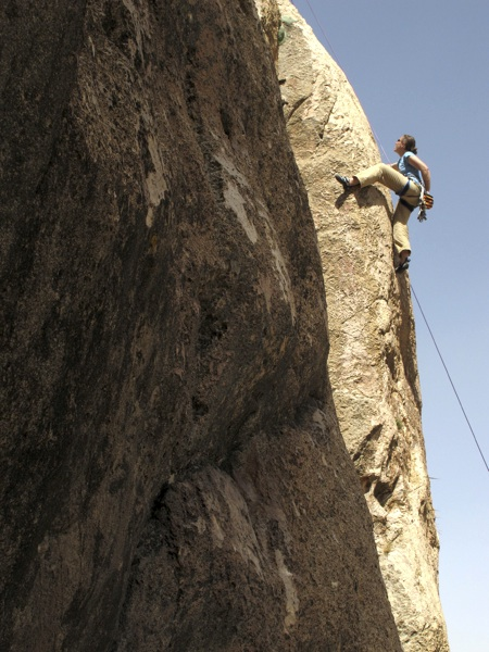 Lydia Pyne on first ascent of Remembering Chris, Sangsar Sol.