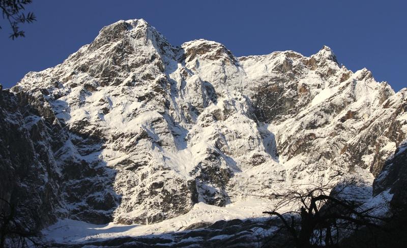 East face of San Ri Mal (ca 6,000m).