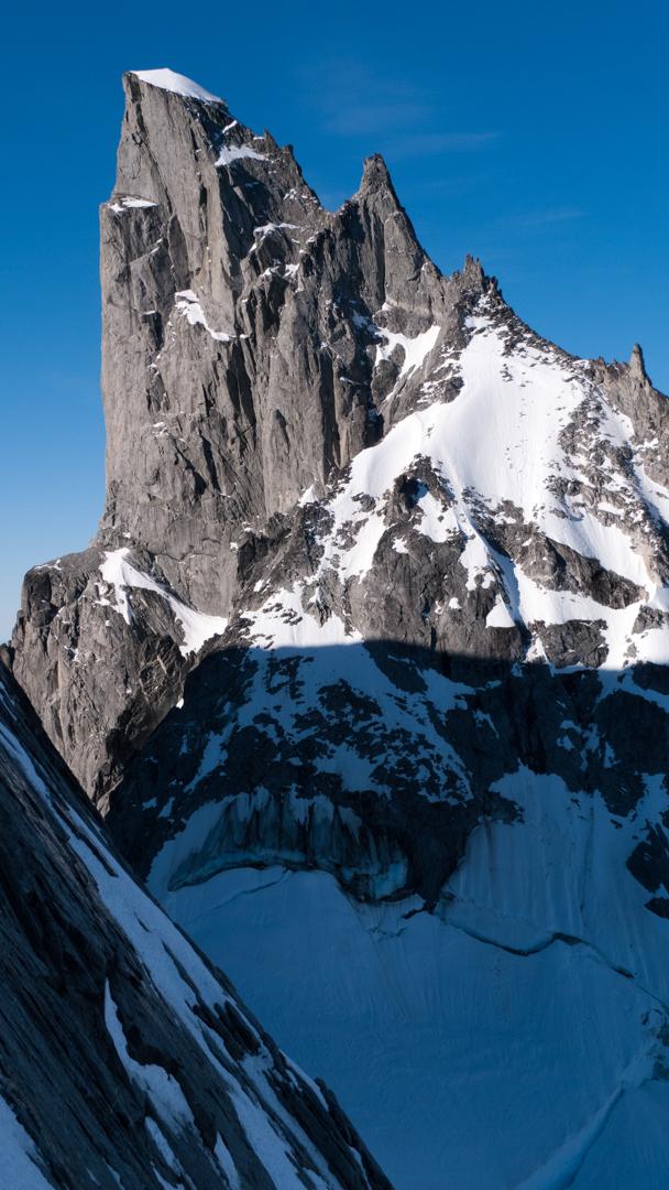 Burkett Needle, as seen from Mt. Burkett.