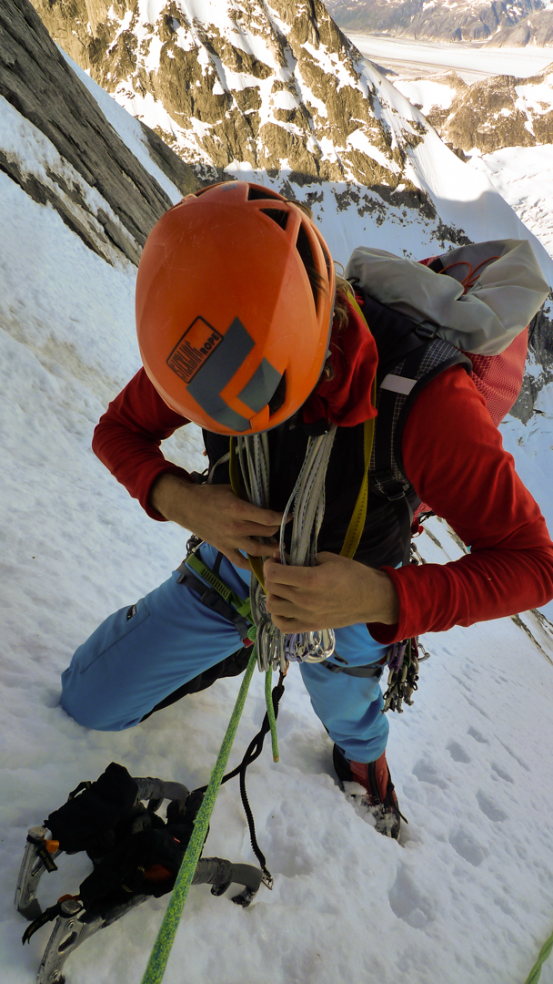 Doug Shepherd hands off the gear.