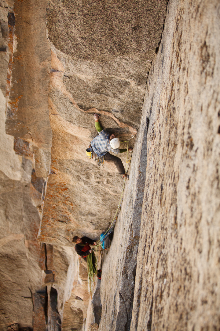 Reed leading Pitch 2 (5.11+)