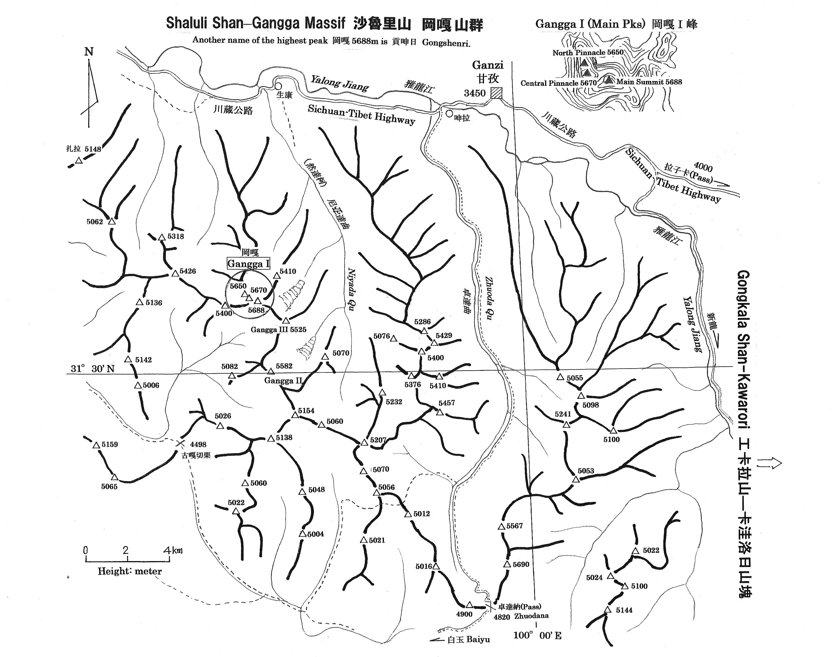 Gangga Map