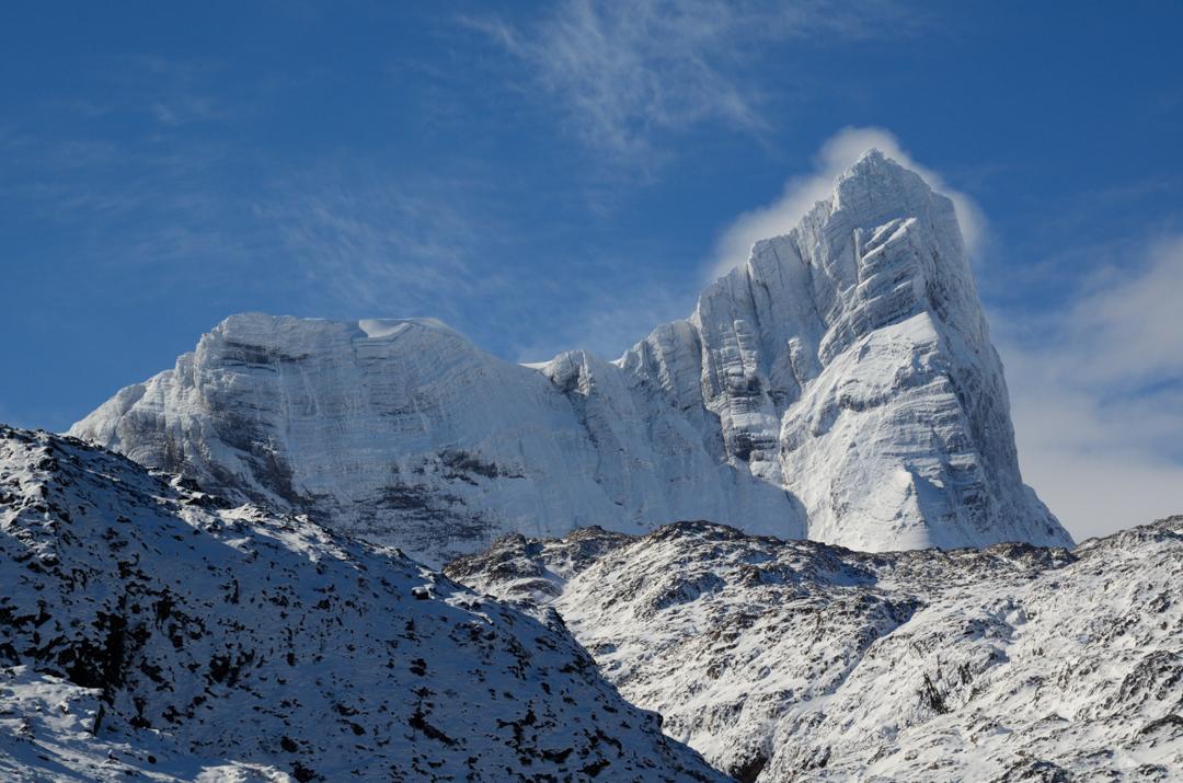 An overview of Monte Giadorno.