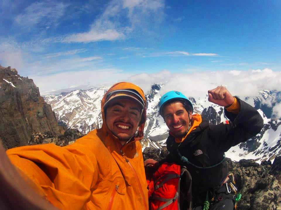 On the summit of Torreon Chala.