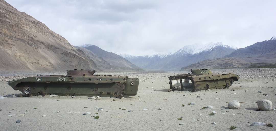 On route to the Pamir. No comment needed.