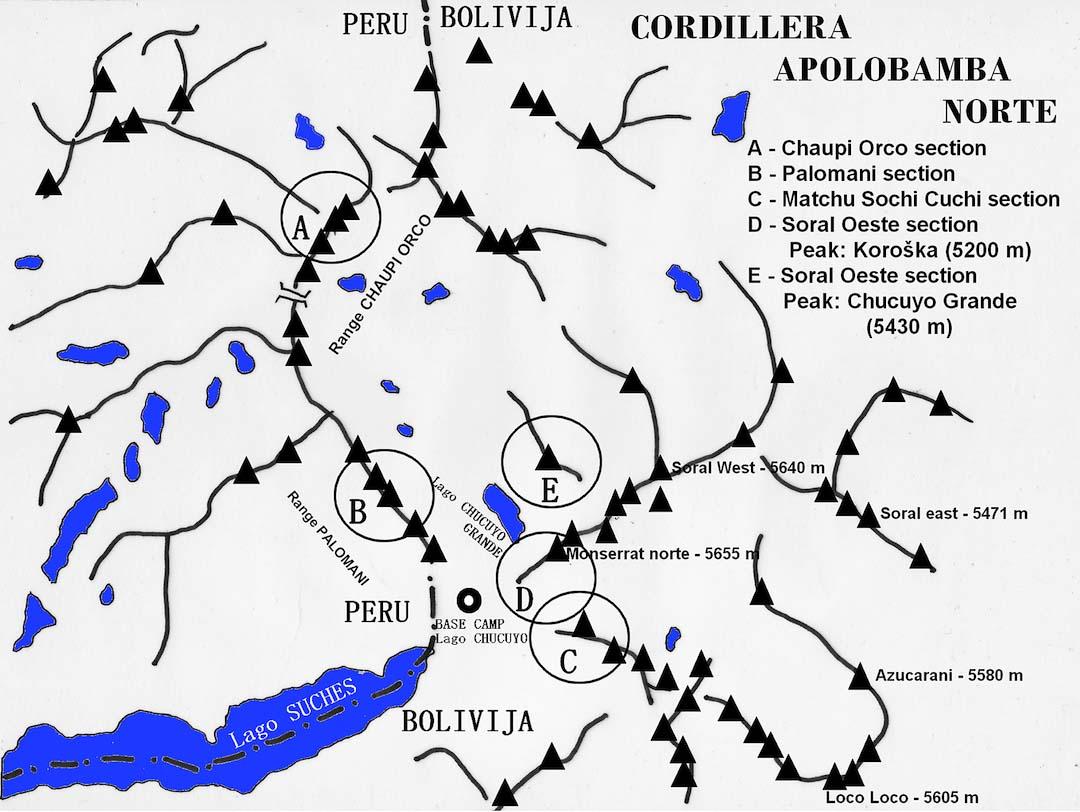 Apolobamba Map
