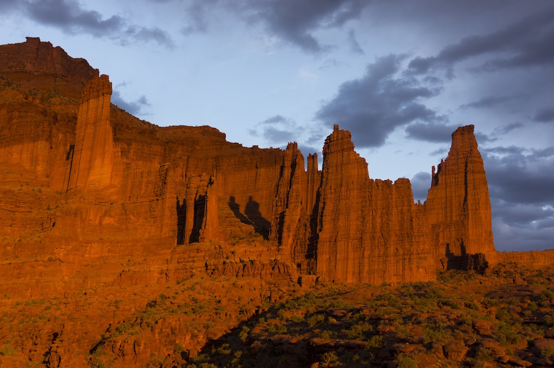 The Fisher Towers, with 50 years of aid-climbing history, are one of the last places in the United States where new nailing routes are still being put up.