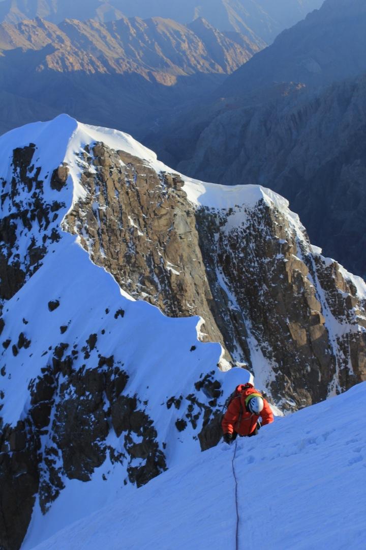 Summit ridge on Peak After You.