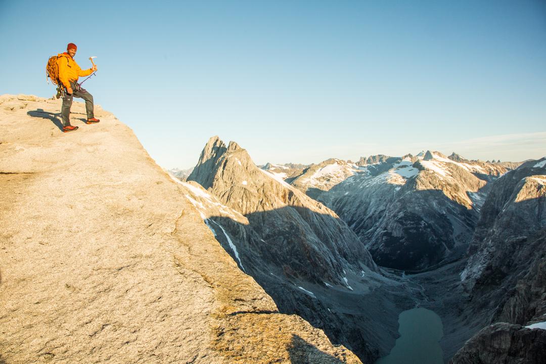 Summit of Cerro Mariposa.