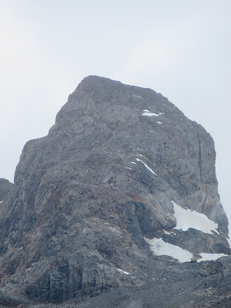 A close up of Peak 1,960m.