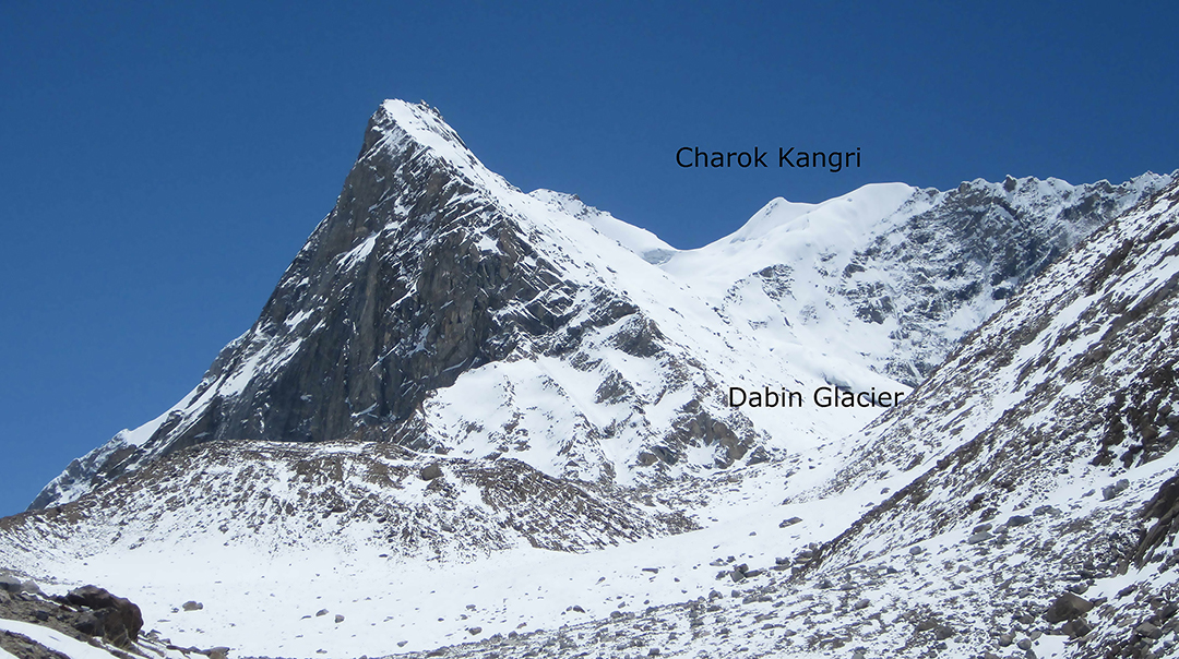 Charok Kangri from the south.