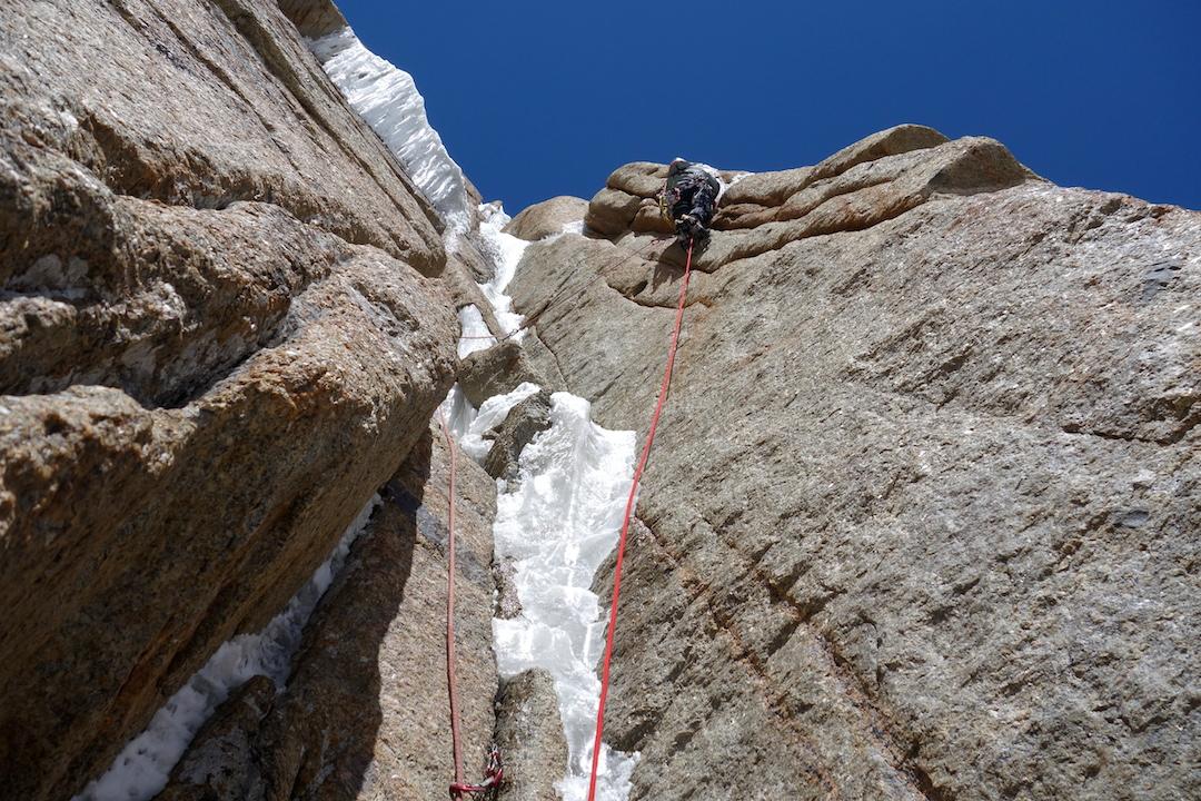 Climbing on War and Peace, Kyzyl Asker.
