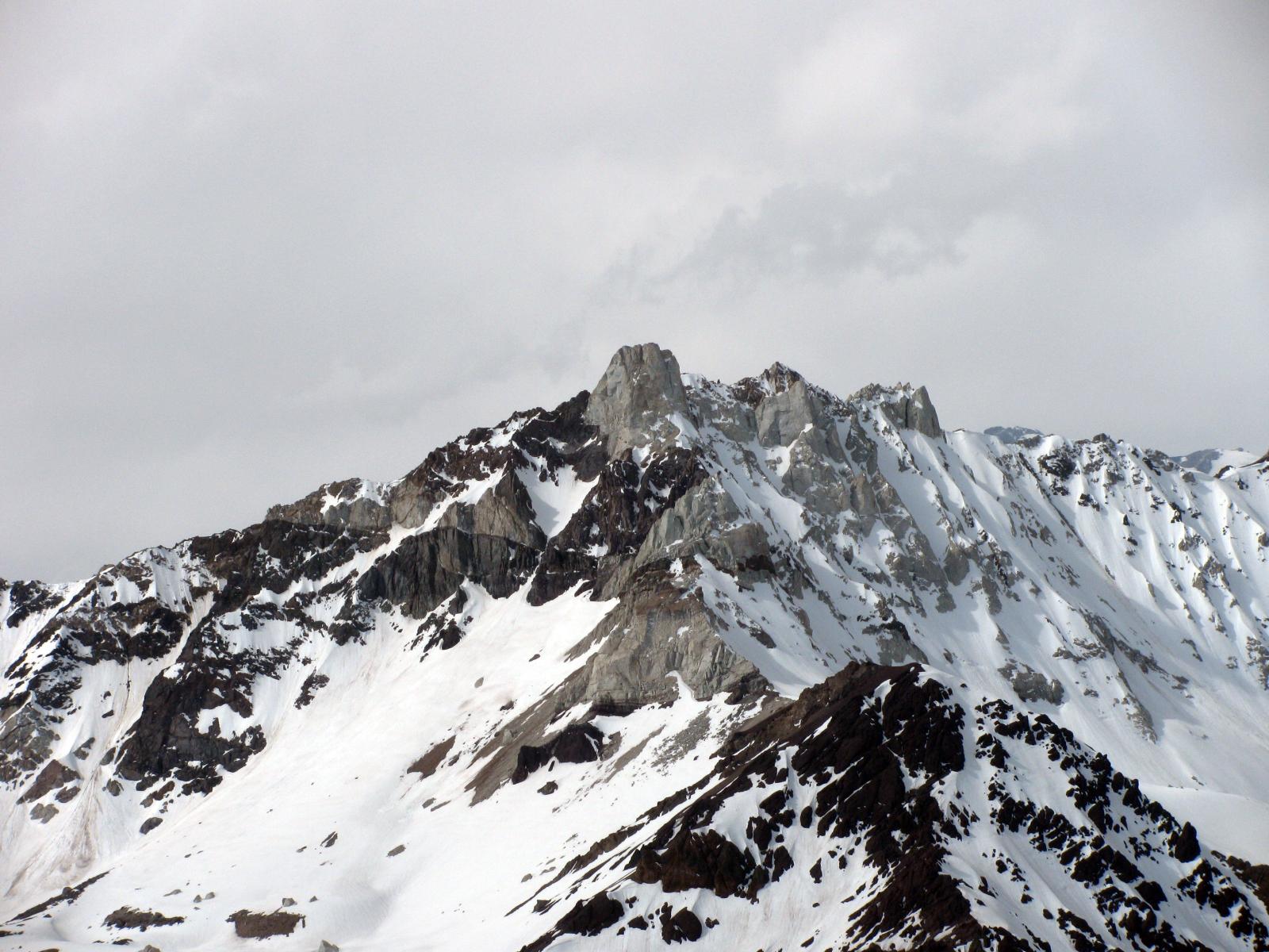 Unnamed peak in the Las Leñas Valley.