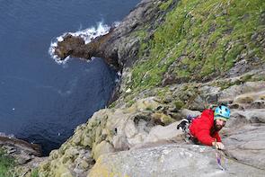 Faroe Islands Sea Cliff