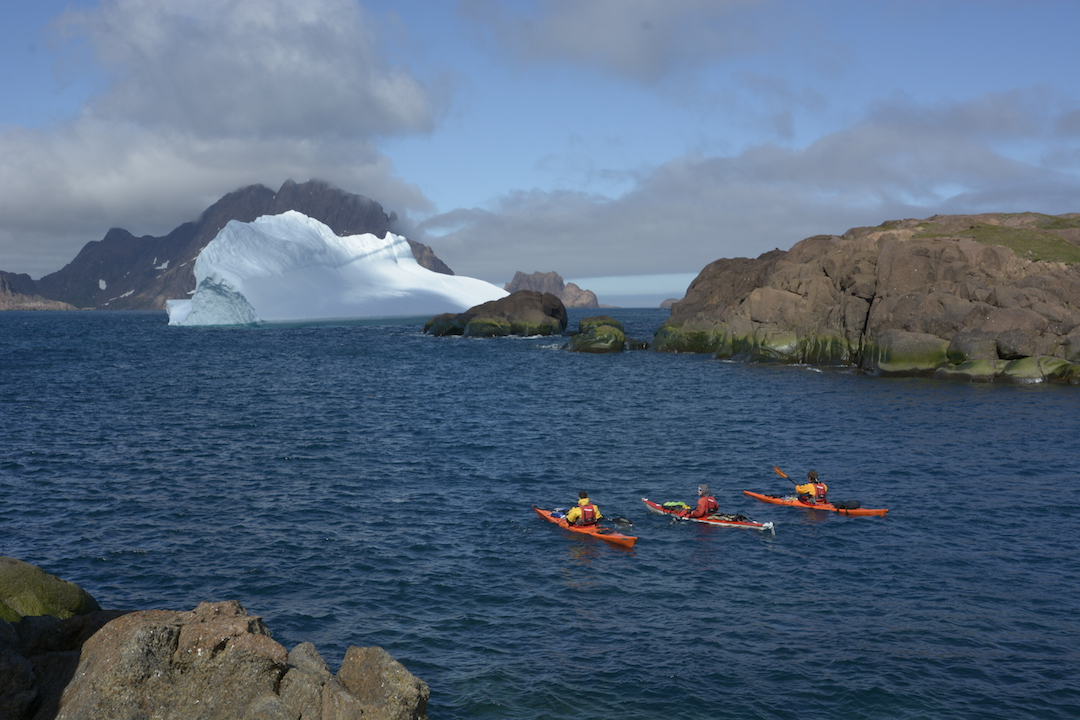 The kayaking could be calm or even tedious, or it could be suddenly life-threatening in the same day.