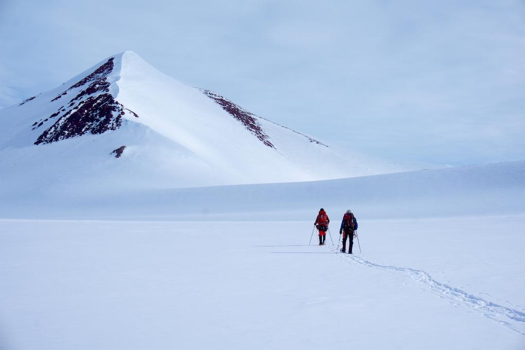 Leaving camp toward Peak 2,359m.