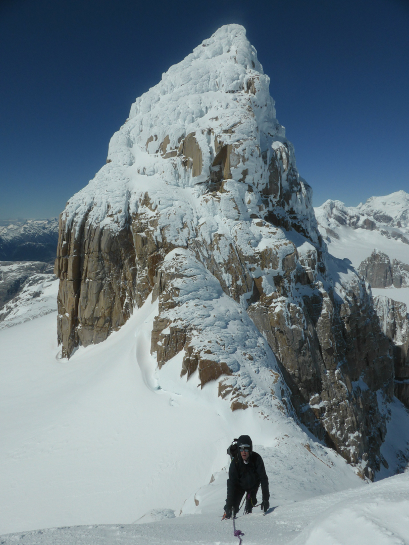 On the ascent of Punta Anna (2,365m), with the north side of Pantagruel (2,537m) behind.