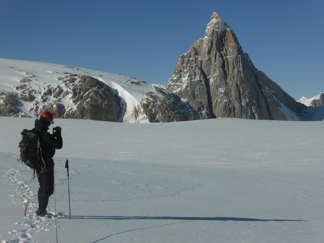 The sheer west side of Pantagruel (2,537m).
