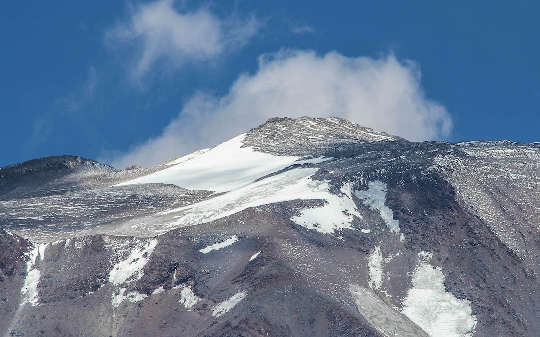Summit area of Incahuasi.