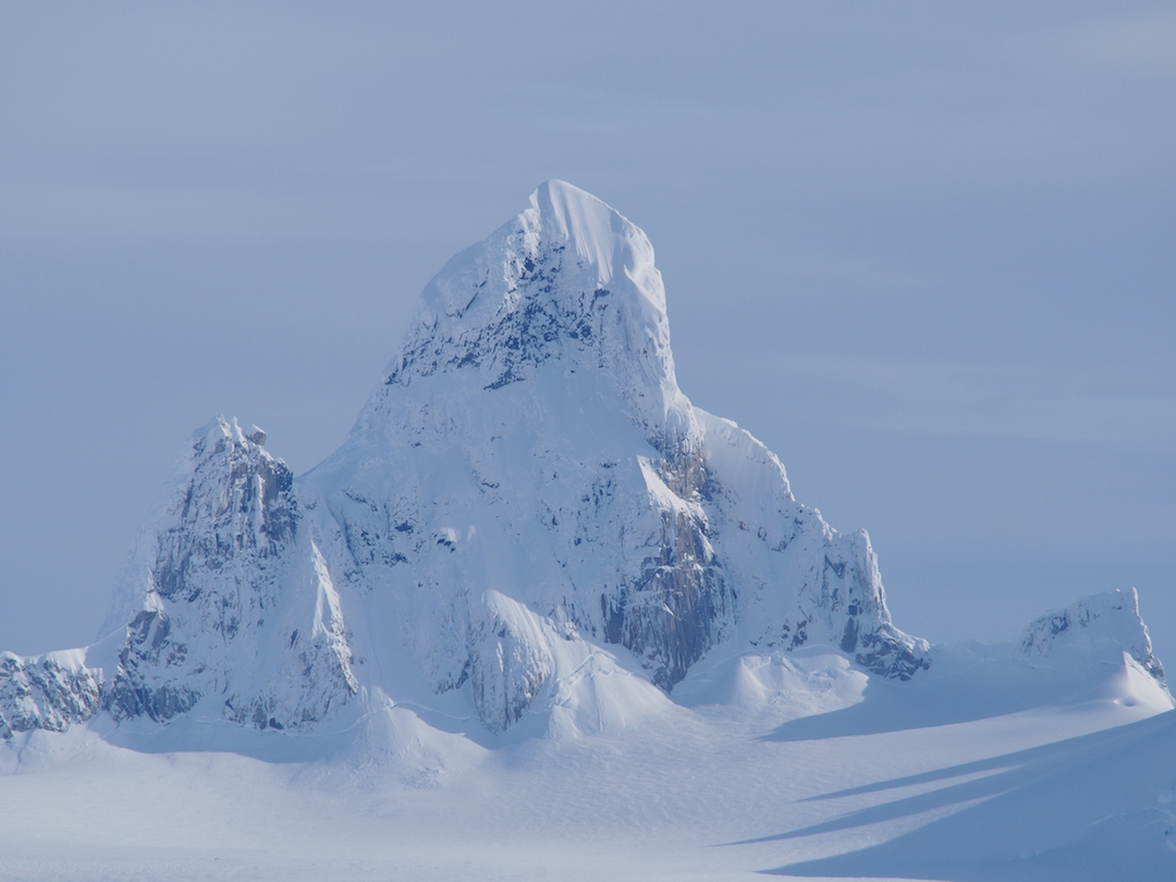 "The peak called ""Alfil"" by the 2017 Martinez-Rada expedition."