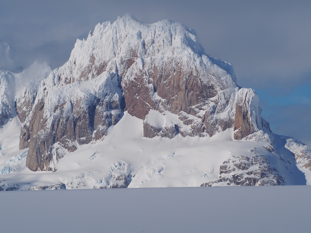 North face of Cerro Nora.
