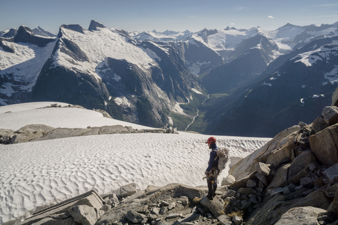 """View from above the """"Dark Valley"""" in British Columbia."""