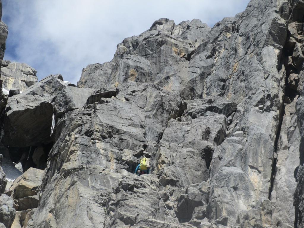 In a sea of limestone on Jurau A.