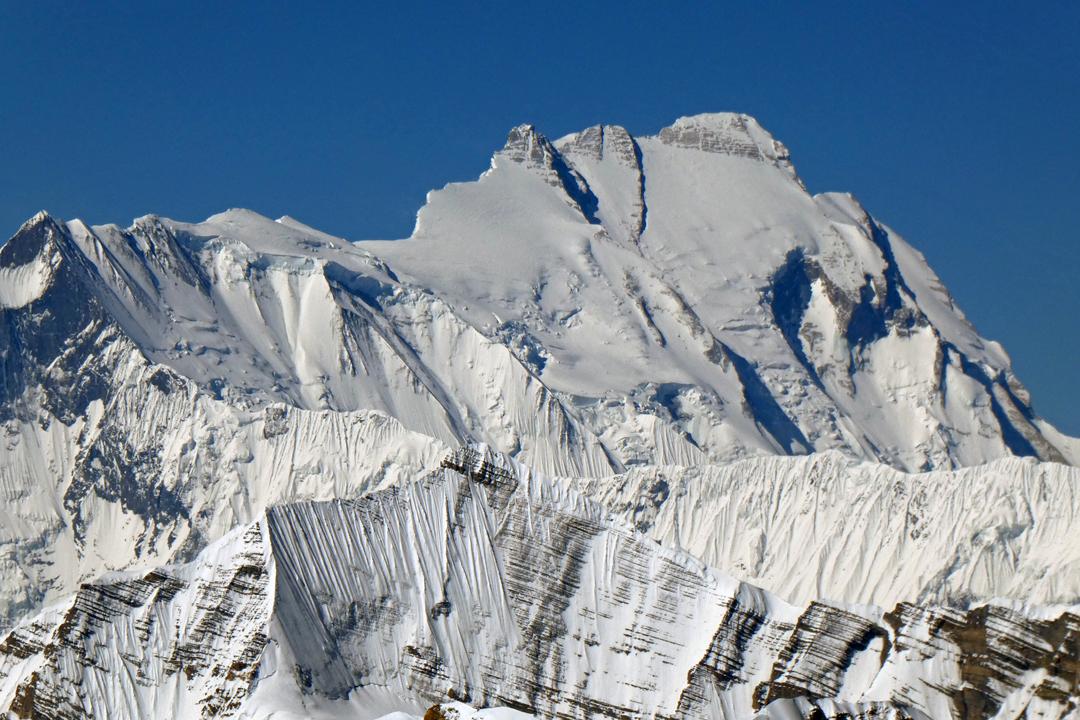 Annapurna from Sano Kailash.