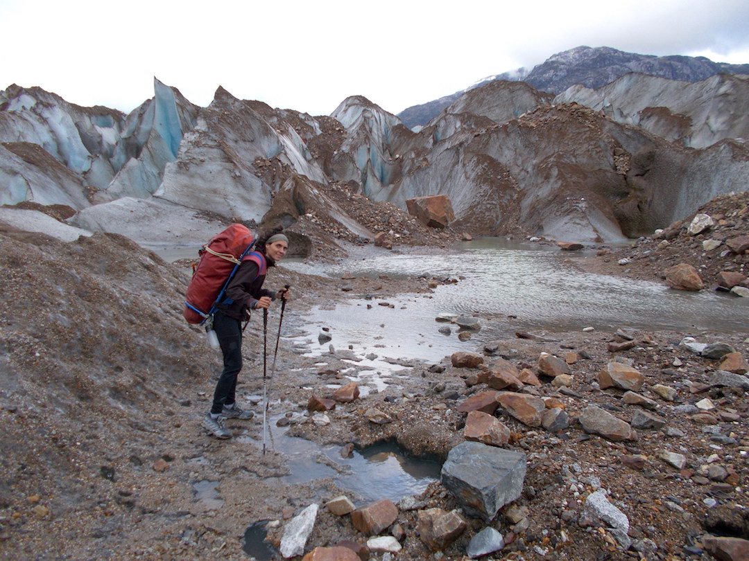 Vidal spent 16 days carrying loads to and from the wall, covering more than 150 kilometers.