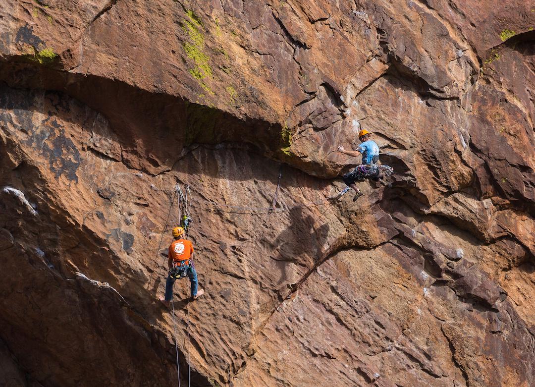 AAC Publications - Danger Zones: Eldorado Canyon